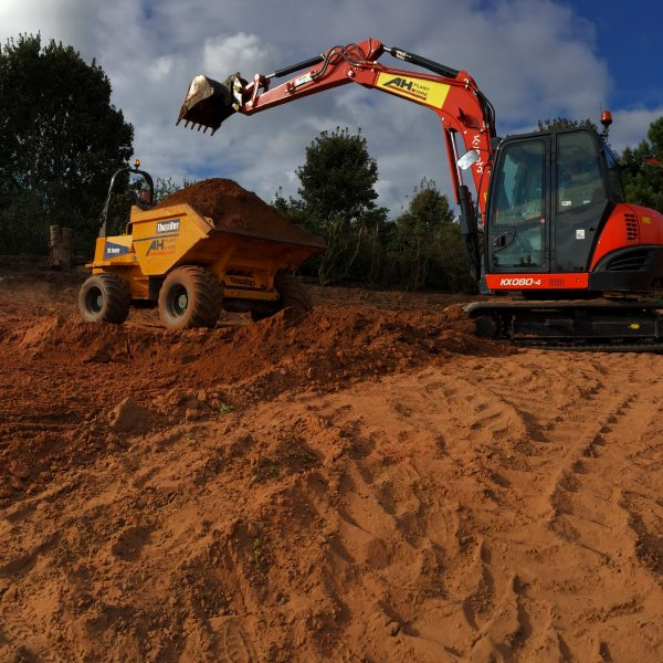 clearance of site in alderley edge